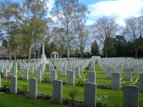 Botley War Cemetery, England