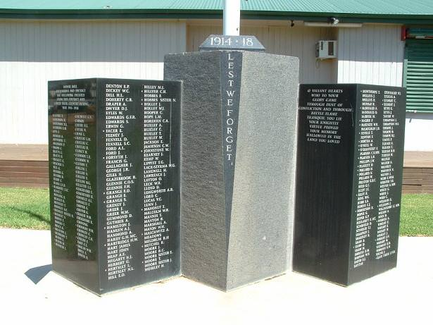 Brewarrina War Memorial
