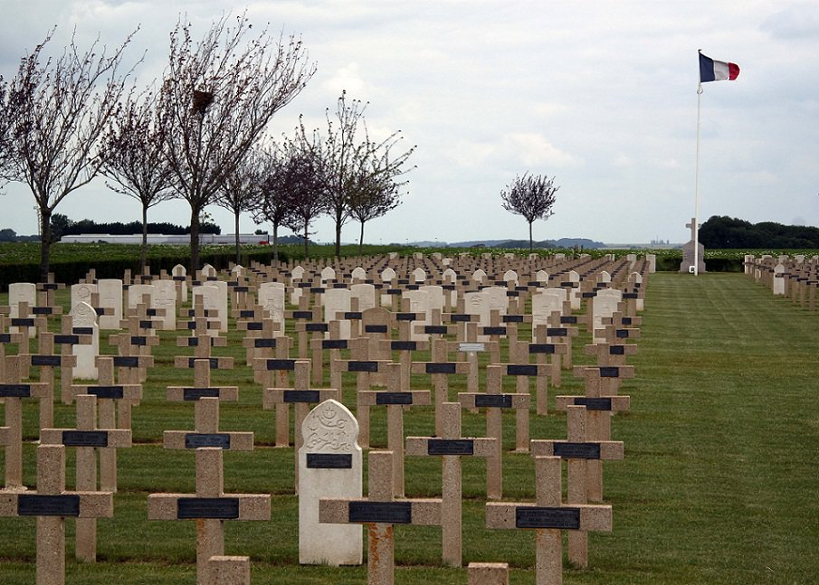 Cote 80 Frech National Cemetery