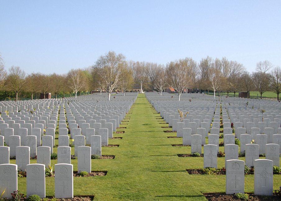 Hooge Crater Cemetery, Belgium