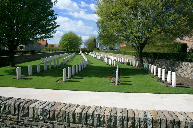 London Rifle Brigade Cemetery, Belgium