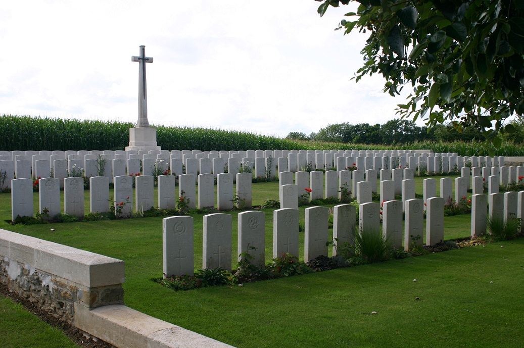 Pernois British War Cemetery, France