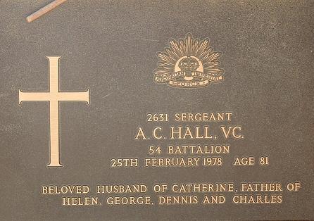 Arthur charls Hall VC