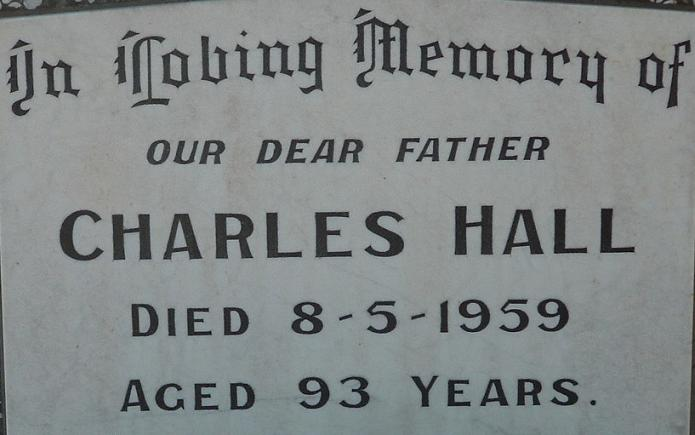 Grave of Charles Hall