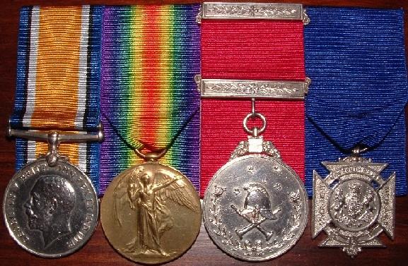 Medals to John Horn