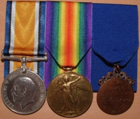 William Patterson's Medals