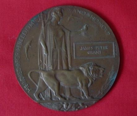 Memorial Plaque to James Grant
