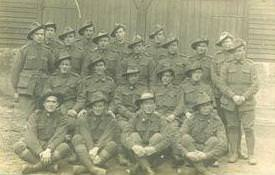 No:2 Platoon 35th Battalion 1919