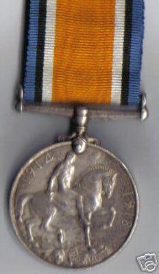 War Medal to LT F BORROWS AIF