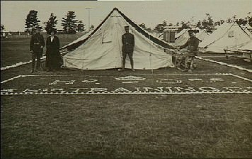 Rutherford Army Camp 1916