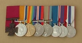 Arthur Halls VC Medal Group