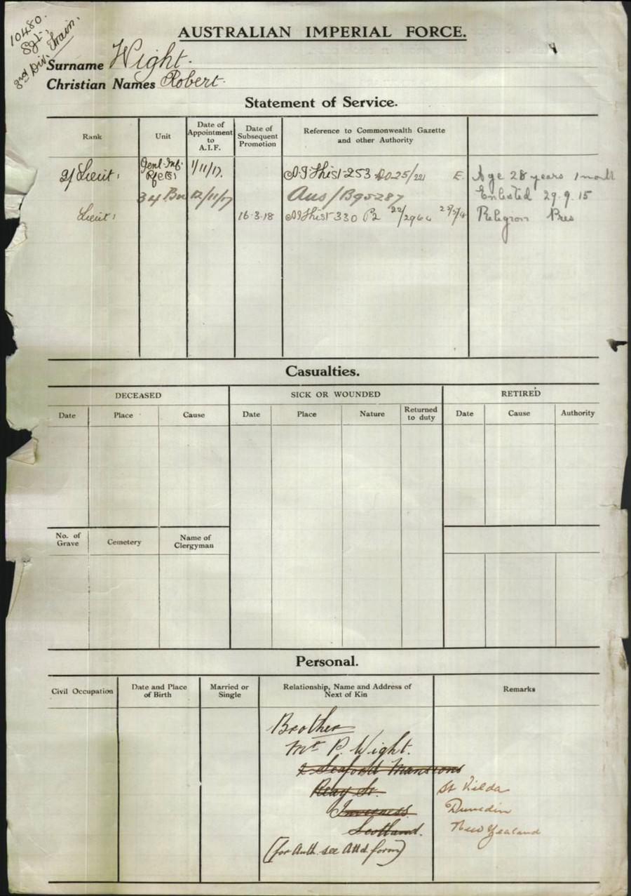 Australian national archives for 207 birdwood terrace toowong