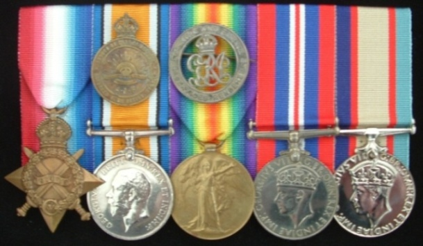 War Medals to Charles Cameron Knight