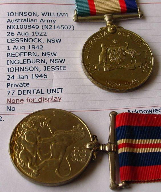 War and ASM Medal